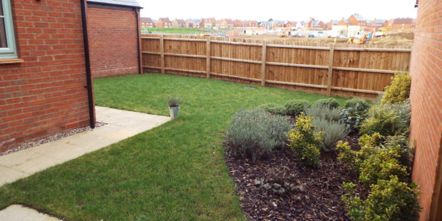 Garden re-organisation, Brackley