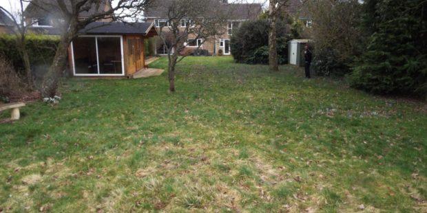 Garden makeover, Bloxham