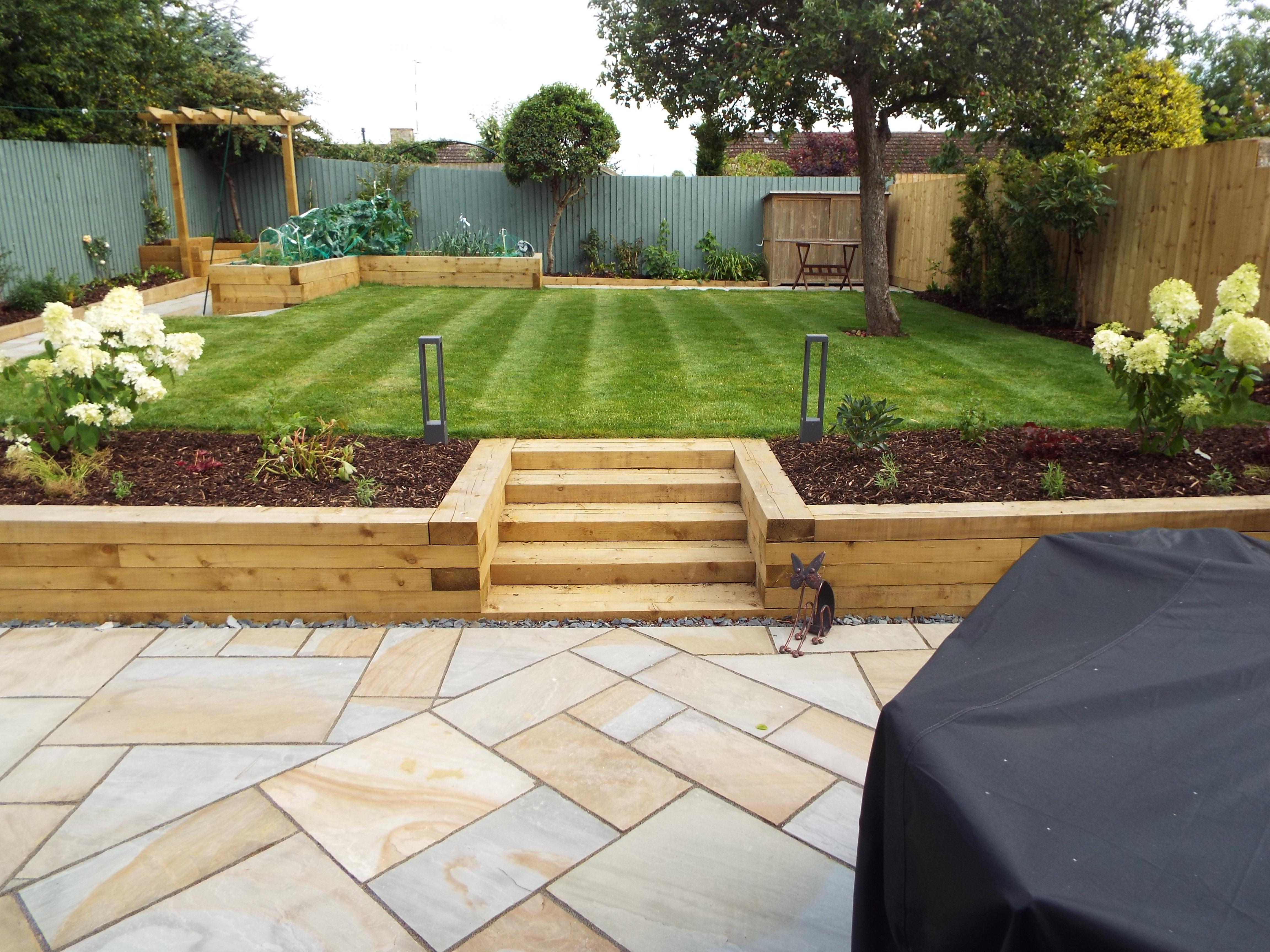 Disabled friendly Garden makeover, Banbury, Oxfordshire