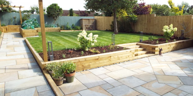 Completed Garden Makeover, Banbury, Oxfordshire