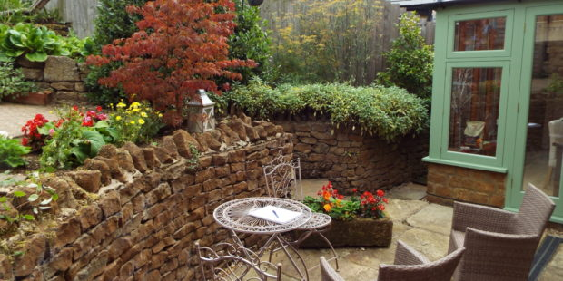 New Garden maintenance, Wroxton, Banbury