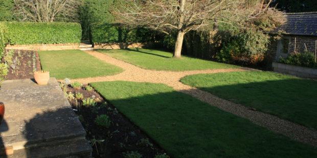Quadrant Garden Borders and Autumn planting works