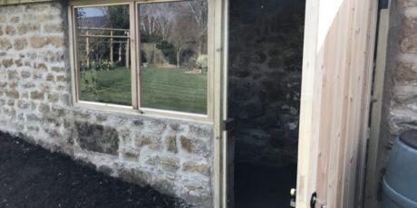 Stone Garden Shed Restoration, South Newington, Banbury