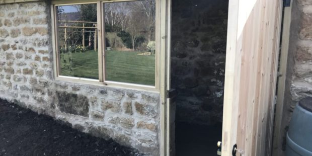 Stone Garden Shed Restoration, South Newington, Banbury