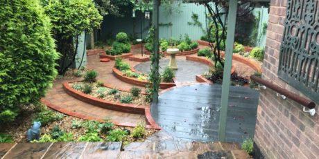 Banbury Courtyard Garden Makeover